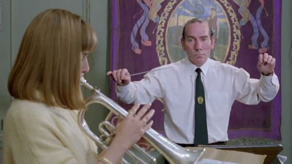 A scene from the film, Brassed Off