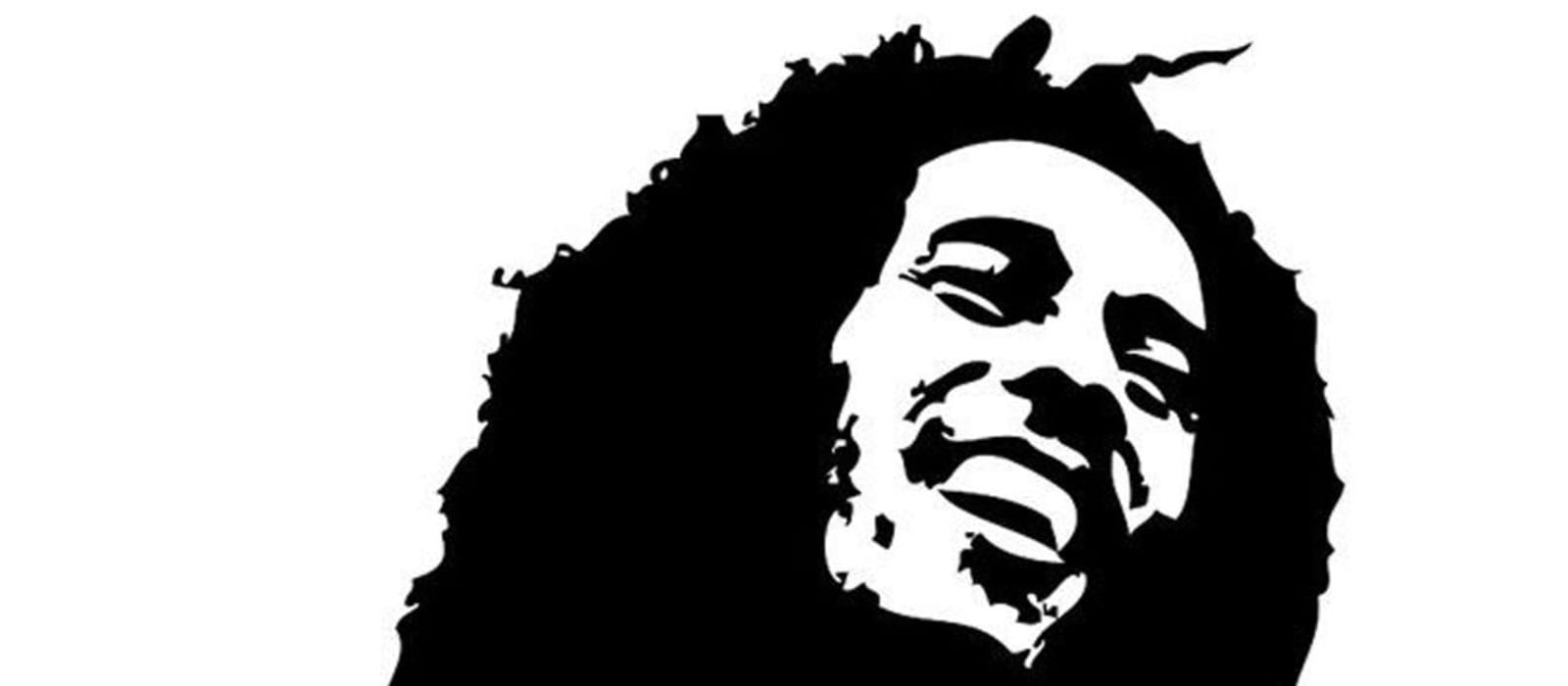 Illustration of Bob Marley