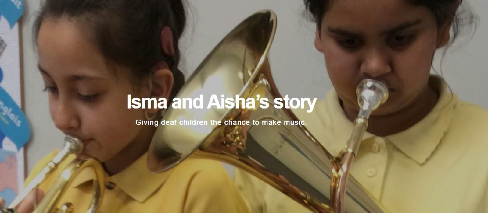 Isma and Aisha's Story