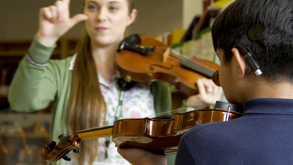 Deaf Young People and Instrumental Learning